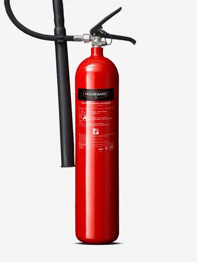 Kuldioxidslukker 5 kg, rød