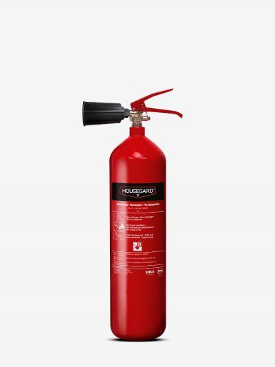 Kuldioxidslukker 2 kg, rød