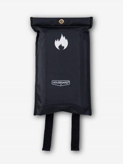 Brandfilt 120x180 cm, svart